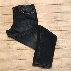 Mossimo Skinny Regular Sz 12 Jeans Dark Wash